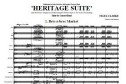 Heritage Suite – Notes from the composer